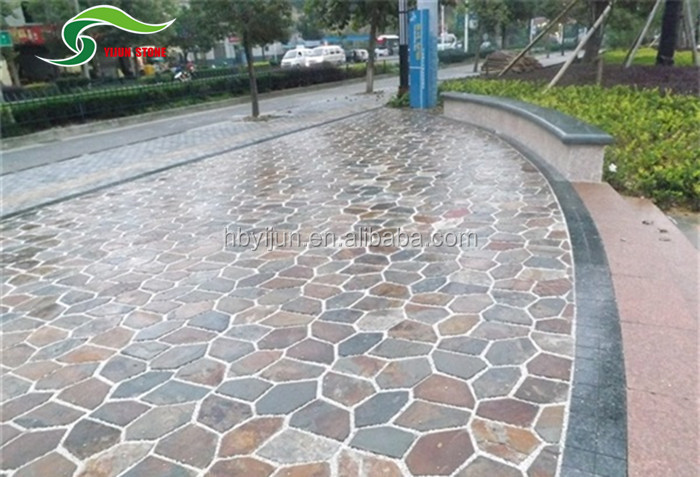 garden non slip outdoor tile slate floor tile grey tile