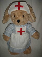 The Nurse Plush rabbit stuffed nurse bunny toys