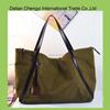 Low toxic customize solid color leisure felt shoulder bag for ladies