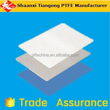 White Slippery 100% Virgin PTFE Moulded Sheet