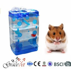 China wholesale cage for hamster/ plastic hamster cage