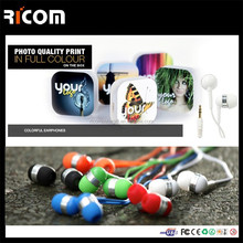 silicone earphone rubber cover,earphone packaging box