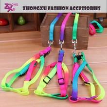new high quality rainbow custom logo retractable pet dog leash