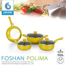Japaness enamel Cast iron induction compatible cookware for indian