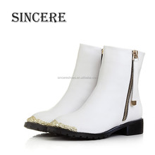 Classic Design Brand New Leather Boots for Women