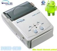 KOREA Woosim 58mm mobile thermal bluetooth printer PORTI-SC30 with MSR