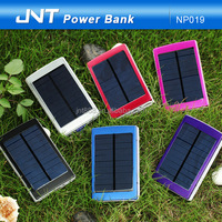 High capacity 14000mah fast charging solar power bank for Campers camping
