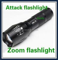 E17/A100 Cree XM-t6 2000 Lumens 5-mode Cree led flashlight