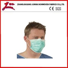 3 Ply Blue Color PP Non Woven Disposable Surgical Face Mask Above 99% B.F.E & P.F.E