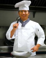 Poly Cotton Cloth Long SleeveWhite Color executive chef coat Chef Jacket Chef Uniforms for sale