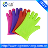 Food grade silicone glove for grill bbq glove heat resistant silicone oven mitts