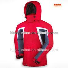 2013 Nuevo diseño para hombre de Ski & Snowboard chaqueta