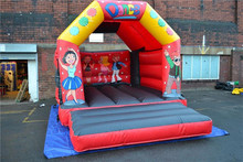 Inflatable Castle Bouncer /fire truck inflatable bounce house