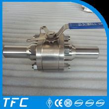 válvula de bola motorizada de acero carbono