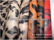 Leopard Print Garment PU Leather
