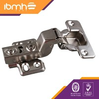 Insert Slide-On Soft Close 35mm. Hinges with 4 Holes Plate H=0,12 Screws
