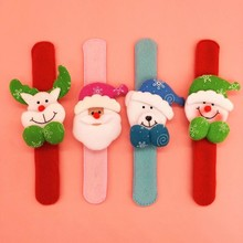 YIwu caddy SDZS-078wholesale Christmas Cartoon Wrist Wrap Ornaments Decoration