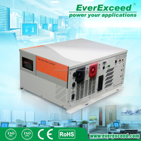 EverExceed 1500W Pure Sine Wave Solar Inverter combined inverter & charger