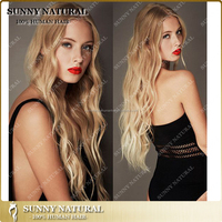Ombre russian #1B/33 alibaba website beyonce wave russian hair full lace wig lace front wig