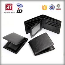 Custom Genuine Leather Wallet Secure ID Card Wallet
