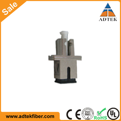 Good Quality Bulk Price Simplex Duplex LC/SC Fiber Optic Adapter with Ceramic Sleeve
