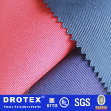 xinxiang drotex 100 retardante de llama de tela de algodón para prueba de fuego sobretodo babero