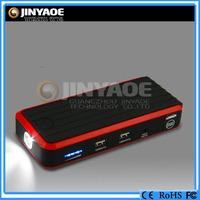 Factory wholesale 18650 jump start battery booster multiple usb charger 12v lithium car starter battery