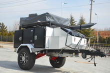 off road camper trailer tent for sale with roof top tent China cheap