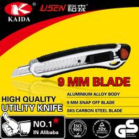 9mm Snap Off Blade Aluminium Handle Hot Utility Cutter Knife