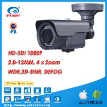 HD-SDI Zoom View CCTV Camera Waterproof