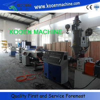 HOT pvc water four pipe extruding line