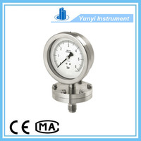 Diaphragm pressure gauge manometer
