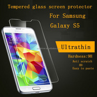 Hot Products China Mobile Phone 9H 2.5D Anti Blue Light Screen Protector Tempered Glass Film for Samsung Galaxy S5