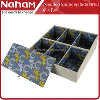 NAHAM Elegant Sock Tie Drawer Closet Divider Storage Organizer Box