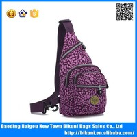 New cotton print ladies chest pack across the chest bags