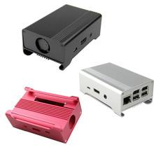 Raspberry Pi 2 / 2B Raspberry Pi B + Alu-case metal aluminum case