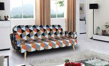 2015 Newest Fabric modern sofa cama de clic clac