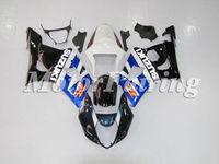 for suzuki gsxr1000 K3 bodykit 2003-2004 gsxr1000 fairing 03 04 gsxr1000 fairing gsxr1000 bodyfairing white blue black