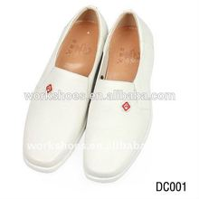 El doctor zapatos, hospital uniforme de los zapatos