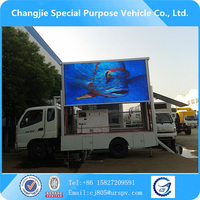 Foton mini led advertising truck