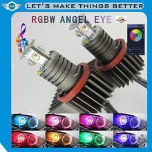 upgrade v-sharp H8 6w Error free led angel eyes led marker for BMW E90 E91 E60 E64 E63 E61 E87 E82