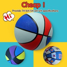 custom cheap sport shiny pvc basketball,5# rubber basketball ball
