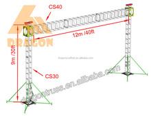 High quality aluminum truss,line array truss,speaker lift
