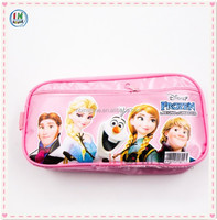 School 2 layer pencil case for children with handle , Attractive design latest 2 layers pencil case