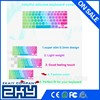 """2015 thirteen gradient colored rubber laptop keyboard covers for macbook pro 13"""",15""""17"""""""