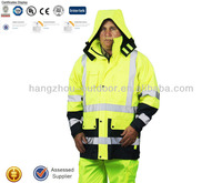 Winter High Visibility safety jacket Coal Mine Workwear for Sale