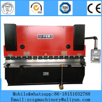 CNC hydraulic steel sheet bending machine with digital display