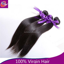 bresilienne human hair weaving,malaysian 5 A remy straight hair extension