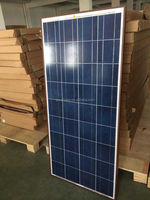 130W poly solar panels with Junction Box from Alibaba china supplier