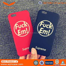 china manufacturer new designed custom printing for iphone 6 hard pc case